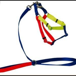 Colourblock Nylon Harness - Large